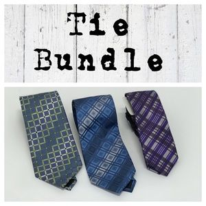 Tie Bundle of 3